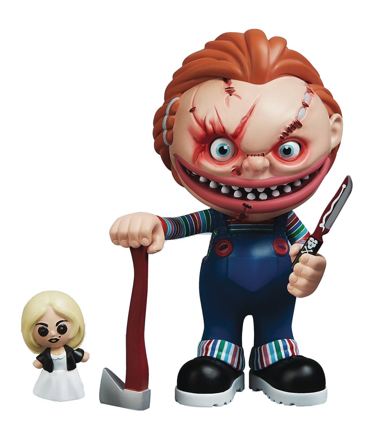 Enterbay Stingrayz Eek Series Child's Play Chucky Figure